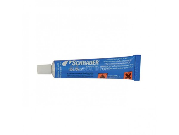 Vulcaniseercement voor bandenreparatie (in tube  van 20 ml)