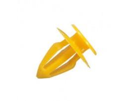 Bekledingsclip, geel  (prijs is voor 5 clips)